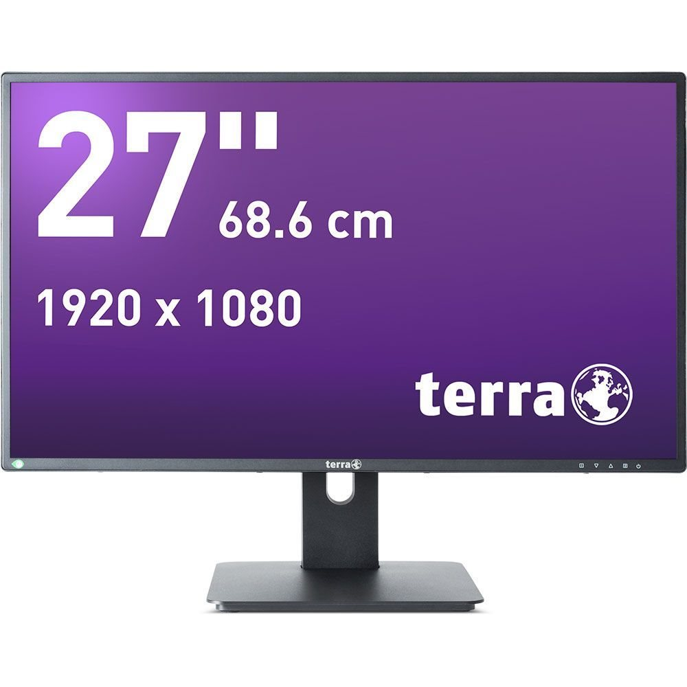 TERRA LED 2756W PV schwarz DP+ HDMI GREENLINE PLUS